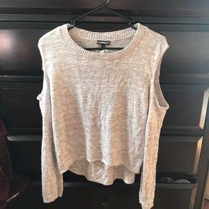 Express Sweaters - Express Cream Sweater Sz XS